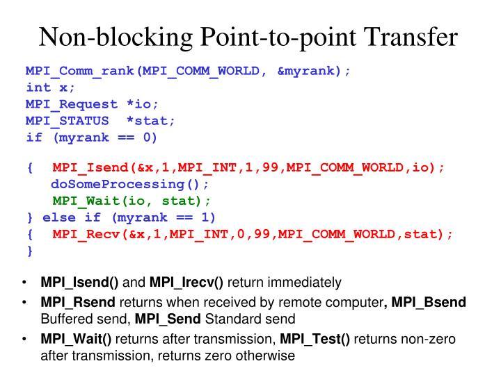 MPI_Comm_rank(MPI_COMM_WORLD, &myrank);