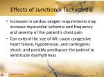 effects of junctional tachycardia1