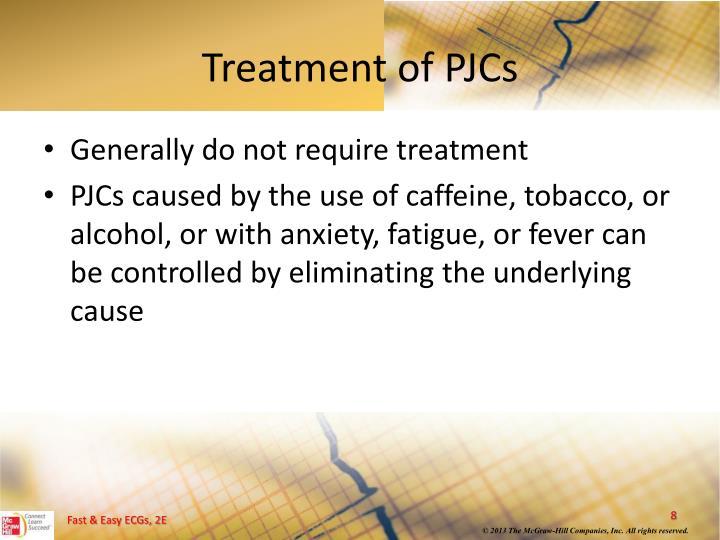 Treatment of PJCs