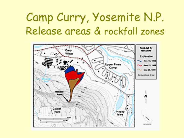 Camp Curry, Yosemite N.P.