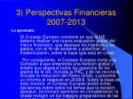 3 perspectivas financieras 2007 20137
