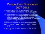 perspectivas financieras 2007 20134