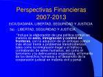 perspectivas financieras 2007 20135