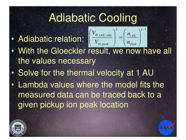 Adiabatic Cooling