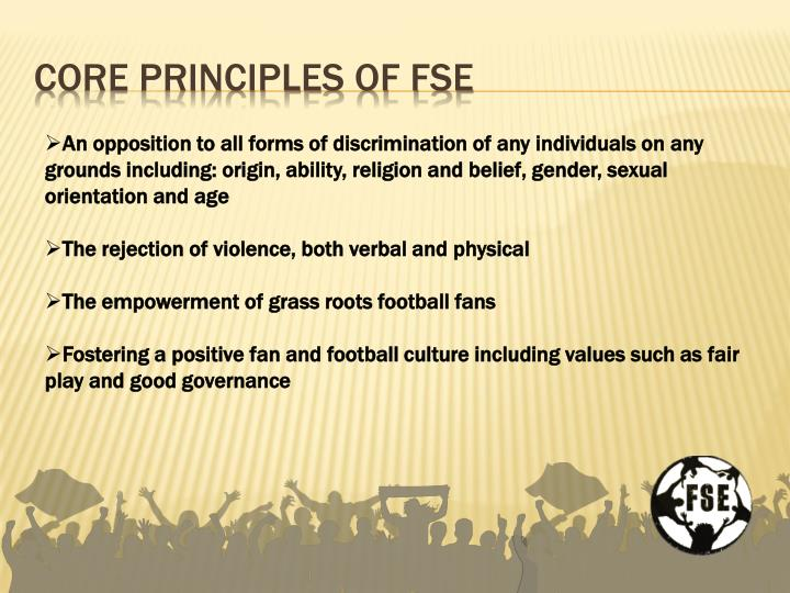 Core principles of fse