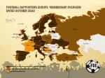football supporters europe membership overview dated october 2010