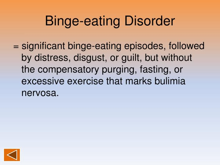 Binge-eating Disorder