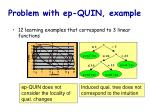problem with ep quin example