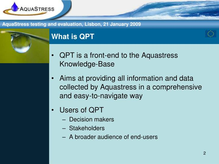 What is qpt
