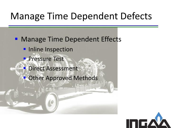 Manage Time Dependent Defects
