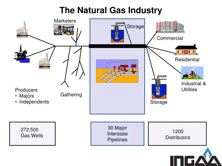 The Natural Gas Industry