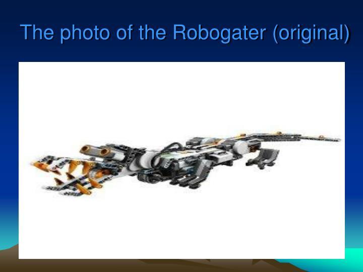 The photo of the Robogater (original)