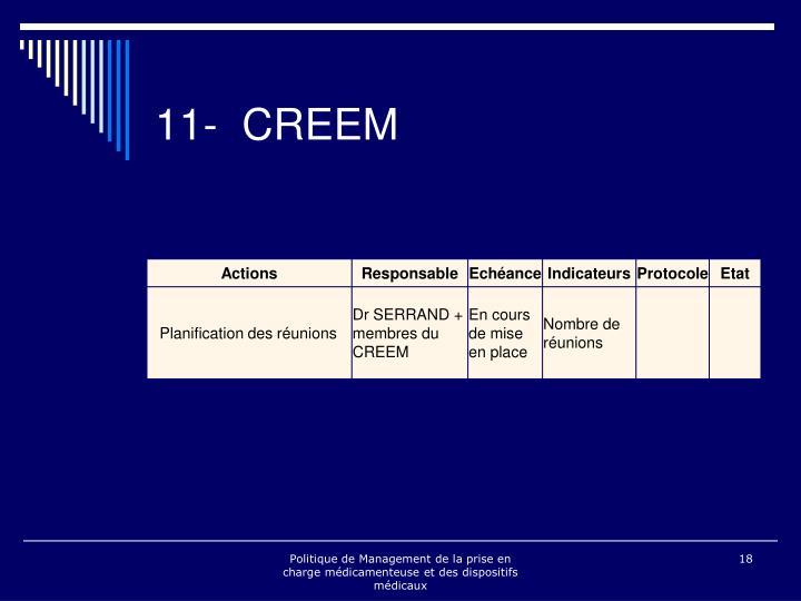 11- CREEM