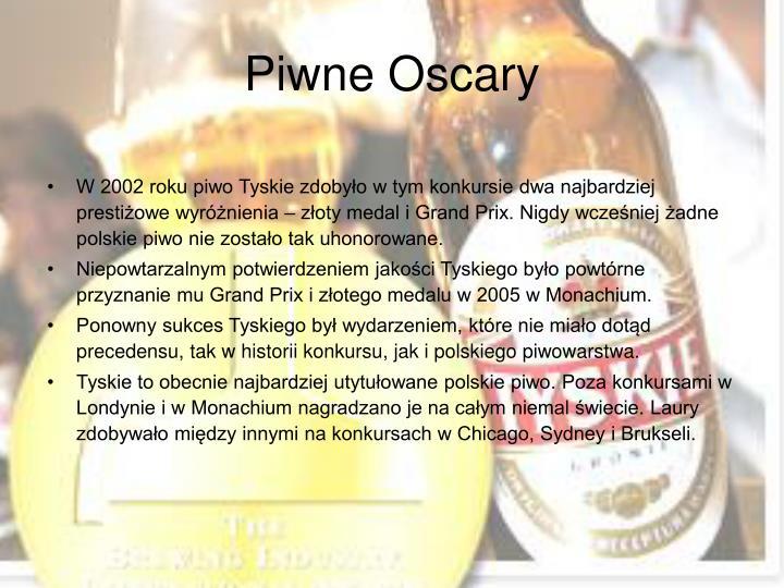 Piwne Oscary