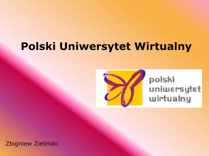 polski uniwersytet wirtualny