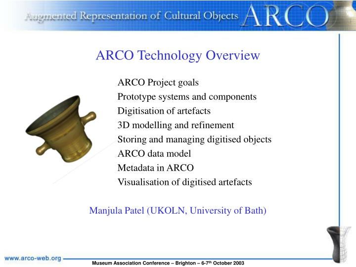 ARCO Technology Overview