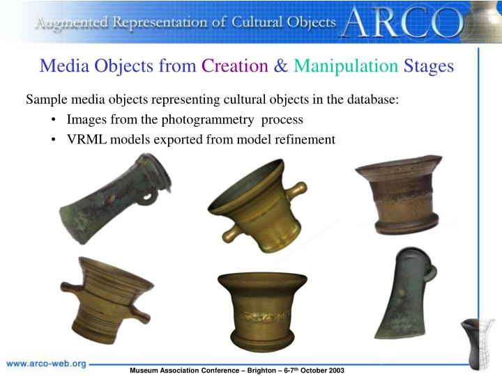 Media Objects from