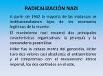 radicalizaci n nazi