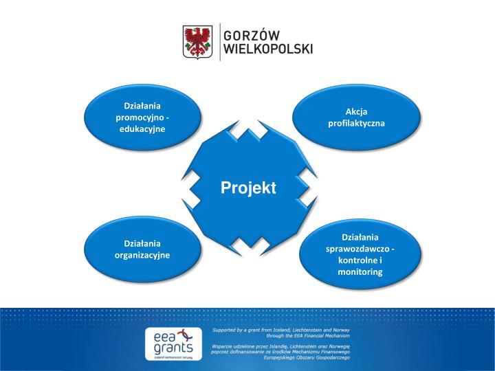 Działania promocyjno - edukacyjne