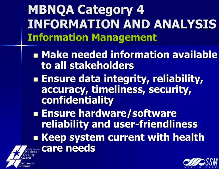 MBNQA Category 4