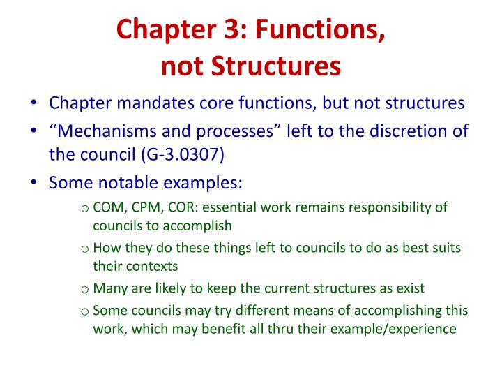 Chapter 3: Functions,