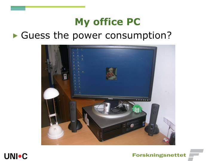 My office PC