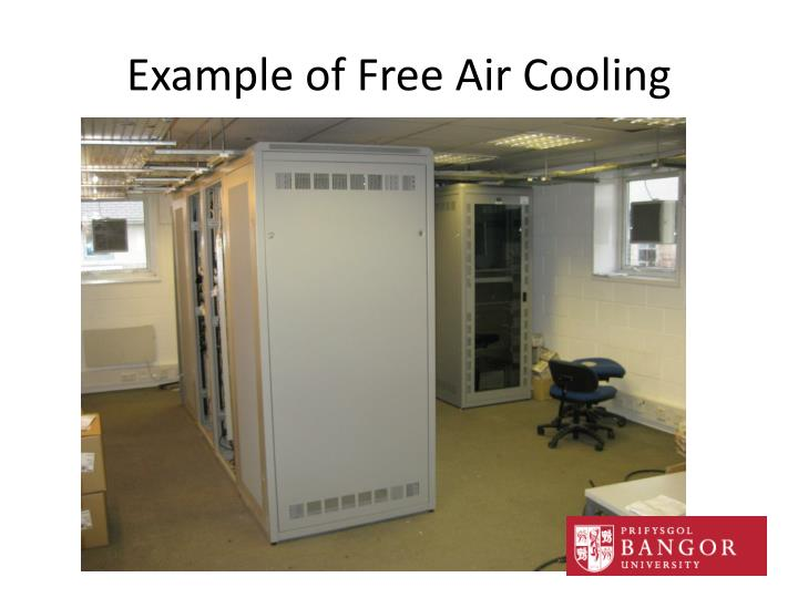 Example of Free Air Cooling