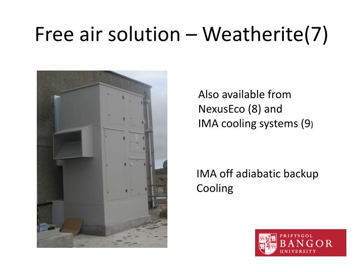 Free air solution – Weatherite(7)