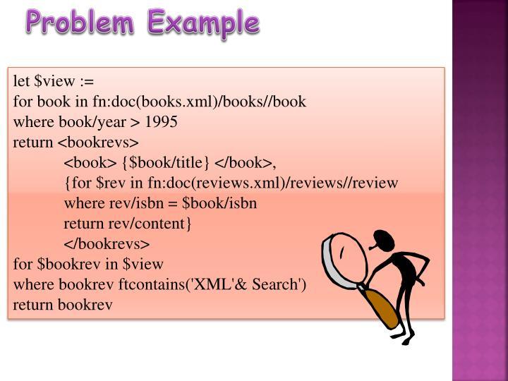 Problem Example
