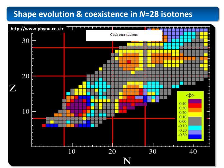 Shape evolution & coexistence in