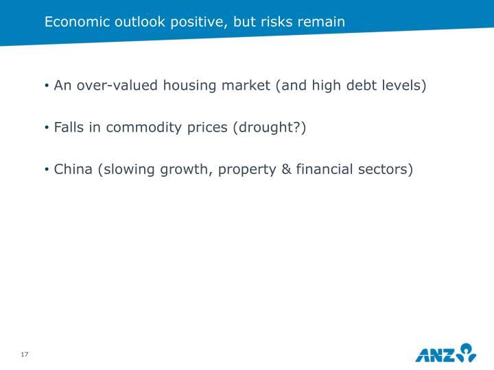 Economic outlook positive, but risks remain