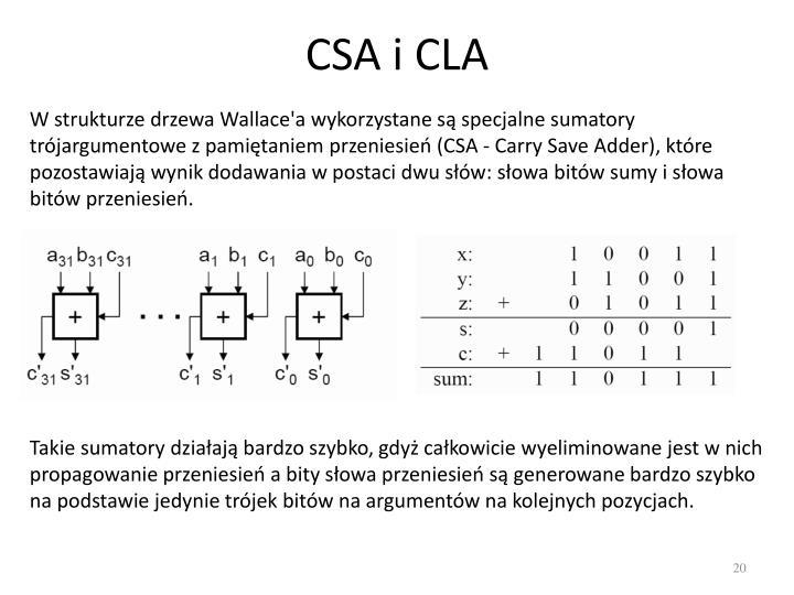CSA i CLA