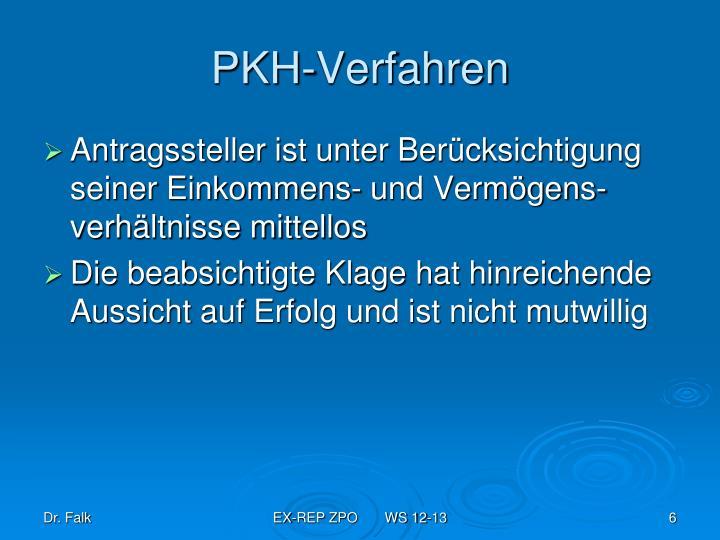 PKH-Verfahren