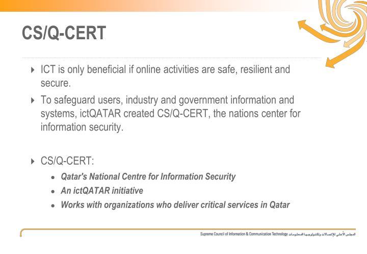 CS/Q-CERT