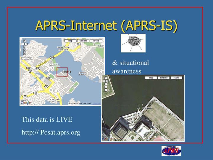 APRS-Internet (APRS-IS)