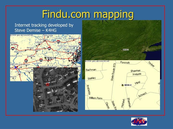 Findu.com mapping