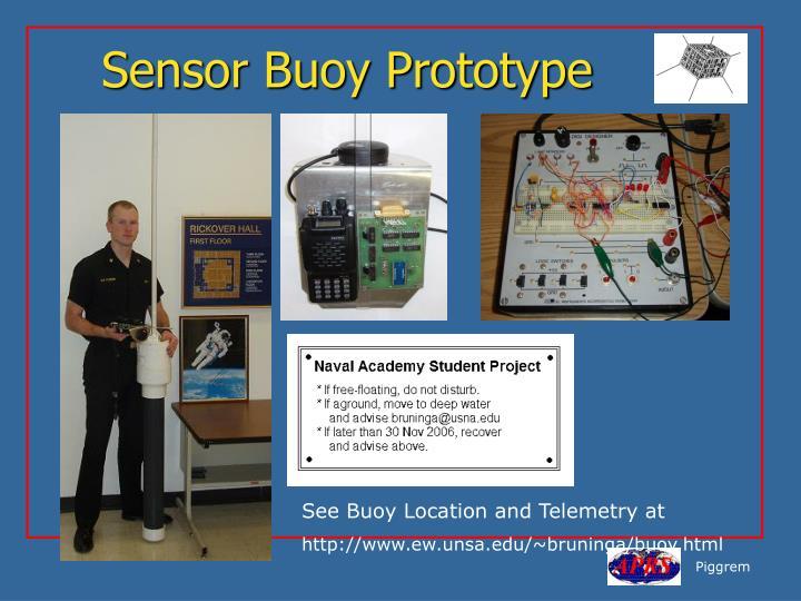 Sensor Buoy Prototype