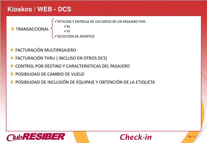 Kioskos / WEB - DCS