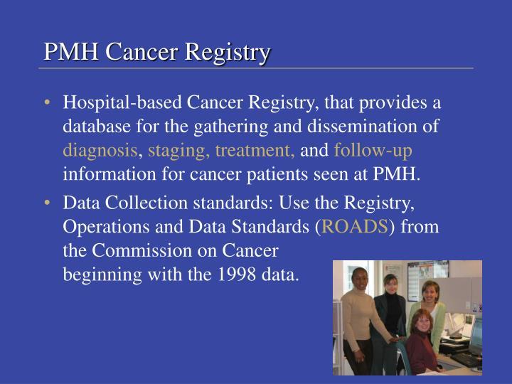 PMH Cancer Registry