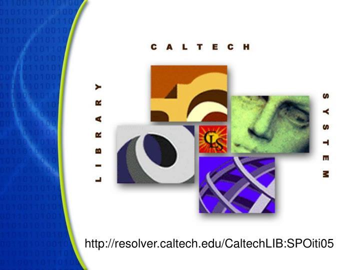 http://resolver.caltech.edu/CaltechLIB:SPOiti05