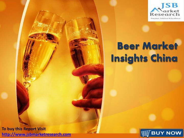 beer market insights china