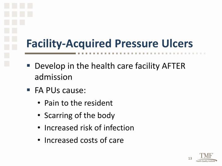 Facility-Acquired Pressure Ulcers