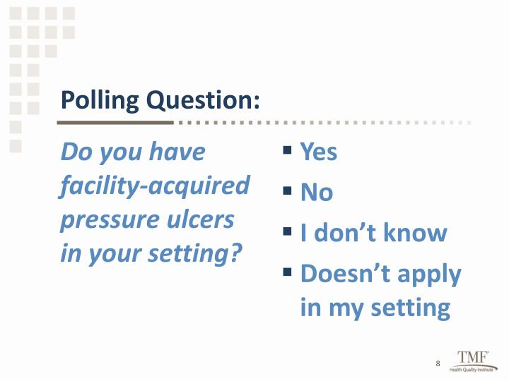 Polling Question: