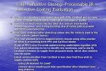 solar reflective glazing processable ir reflective coating evaluation