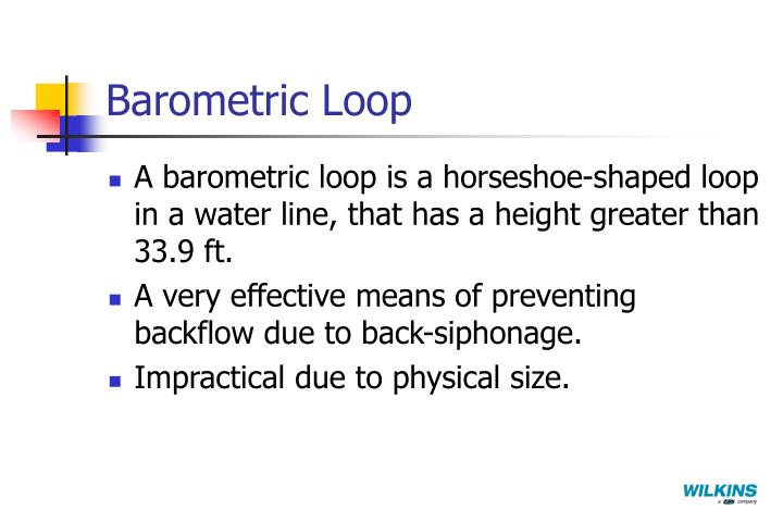 Barometric Loop