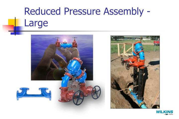 Reduced Pressure Assembly - Large