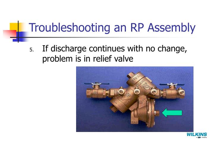 Troubleshooting an RP Assembly