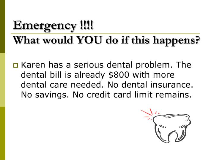 Emergency !!!!