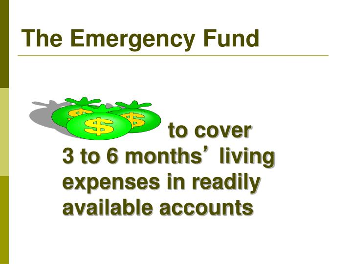 The Emergency Fund