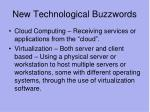 new technological buzzwords